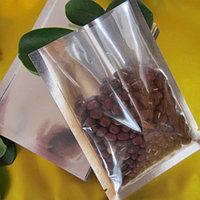 Вакуумный пакет гладкий 16*22,5см прозрачный +метализированный лавсан