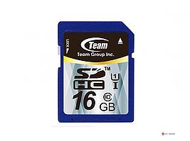 Карта памяти Team Group 16GB TSDHC16GUHS01