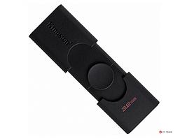 USB- Flash Kingston 32Gb, DataTraveler Duo, USB 3.2 Gen1 + Type-C, DTDE/32GB, Black