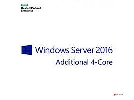 Лицензия 871158-A21 MS WS16 (4-Core) Std Add Lic EMEA SW