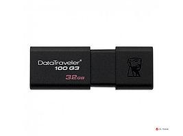 USB- Flash Kingston 32Gb DT100G3, DataTraveler, USB 3.0, DT100G3/32Gb, Black (2pcs)