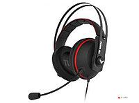 Гарнитура ASUS TUF Gaming H7 Core черно-красный 90YH01QR-B1UA00, 20 ~ 20000 Гц, 32 Ом, разъем 3.5 мм.Длина