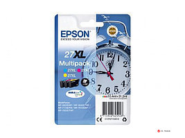 Картридж струйный Epson C13T27154022 Multipack 3-colour 27XL DURABrite Ultra Ink for WF7110/7610/7620