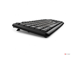 Клавиатура Гарнизон GK-100, USB, черный, кабель 1.5м