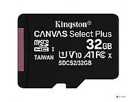 Карта памяти Kingston 32GB microSDHC Canvas Select Plus 100R A1 C10 Single Pack w/o Adapter, SDCS2/32GBSP