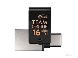 Устройство хранения данных USB Flash Team Group TEAM M181 3.0 DRIVE 16GB BLACK, TM181316GB01