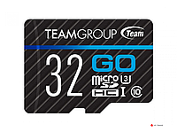 Карта памяти Team Group Go MicroSDHC 32GB U3 TGUSDH32GU302, Read: 90MB/sec; Write: 45MB/sec, No Adapter