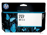 Картридж HP B3P24A, 727, 130 мл, серый