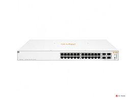 Коммутатор JL684A Aruba Instant On 1930 24G 4SFP+ L2+ (24xRJ-45 10/100/1000 ports PoE+ 370W, 4xSFP+ 1/10Gb