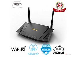 Двухдиапазонный маршрутизатор ASUS RT-AX56U/Wi-Fi 6 (802.11ax)/MU-MIMO/OFDMA/AiProtection Pro/AiMesh