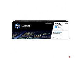 Оригинальный лазерный картридж HP 207A, голубой, W2211A