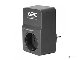 Сетевой фильтр APC PM1WB-RS Essential SurgeArrest, 1 розетка, 230 В, CEE7 Schuko, черный