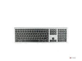 Клавиатура беспроводная Gembird KBW-1, 109 кл., м/медиа, ножничный механизм, бесшумная