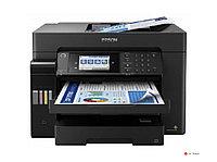 Струйное цветное МФУ Epson L15160 C11CH71404 А3+, до 32 стр/мин, сканер А3, fax, WIFI, Ethernet, Duplex