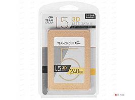 """SSD-накопитель Team Group L5 Lite 3D 240Gb, 2.5"""", 7mm, SATA-III 6Gb/s, 3D NAND TLC, T253TD240G3C101"""