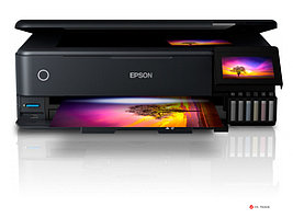 МФУ струйное цветное Epson L8180 А3, C11CJ21403, 32 стр/мин, WIFI, Duplex, Ethernet, USB, SD cart, no ADF