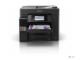 МФУ струйное цветное Epson L6570, 32 стр/мин, А4, ADF, Duplex, WIFI, Ethernet, FAX, поддержка SD карт,