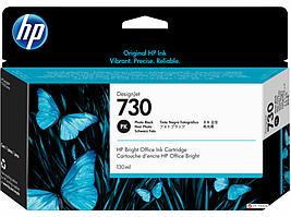 Струйный картридж HP P2V67A 730 для HP DesignJet, 130 мл, черный фото