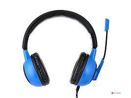 """Гарнитура игровая Gembird MHS-G50, """"Survarium"""", черный/синий, регулировка громкости, отключение микрофона,"""
