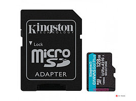 Карта памяти Kingston 128GB microSDXC Canvas Go Plus 170R/90W A2 U3 V30 Card No Adapter, SDCG3/128GBSP