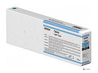 Картридж струйный Epson C13T804500 для SureColor SC-P6000/7000/8000/9000, повышенной емкости, светло-голубой