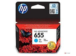 Картридж HP CZ110AE №655 Cyan Ink Cartridge для HP DJ 3525, 4615, 4625, 5525, 6525 e-All-in-One