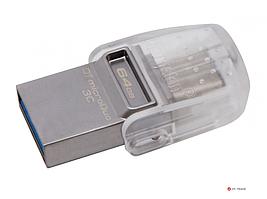 USB Флеш 64GB 3.0 Kingston DTDUO3C/64GB метал