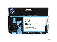 Струйный картридж HP DesignJet 728, матовый черный, 130 мл 3WX25A