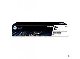 Оригинальный лазерный картридж HP 117A, черный, W2070A