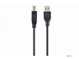 Кабель USB 2.0 Pro Cablexpert CCP-USB2-AMBM-6, AM/BM, 1.8м, экран, черный, пакет