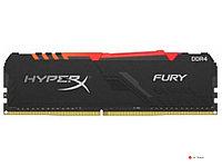 ОЗУ Kingston Hyper X Fury RGB 8Gb/3733 CL19, 1.35V, HX437C19FB3A/8