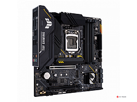 Сист. плата ASUS TUF GAMING B560M-PLUS, B560, 1200, 4xDIMM DDR4, 2xPCI-E x16, M.2, 6xSATA, DP, HDMI, BOX