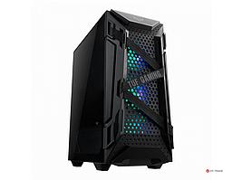 Кейс ASUS TUF Gaming GT301, ATX/micro ATX/Mini ITX, USB 3.1, 3x120mm AURA RGB, без Б/П, Чёрный