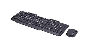 Комплект беспроводной клавиатура+мышь Ritmix RKC-105W черный