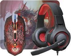 Комплект игровой Defender DragonBorn MHP-003 мышь+гарнитура+ковер