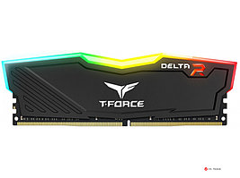 ОЗУ TeamGroup T Force Delta RGB 16Gb/3600MHz, CL18, 1.35V, RGB, Black, TF3D416G3600HC18J01