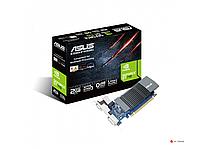 Видеокарта ASUS GT 710, GT710-SL-2GD5 BRK, Silent, 2Gb/64bit, GDDR5, DVI-D, HDMI 2.0, D-SUB, BOX