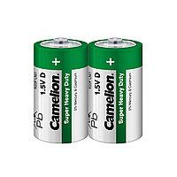 Батарейка CAMELION Super Heavy Duty R20P-SP2G 2 шт. в плёнке