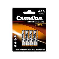 Аккумулятор CAMELION Lockbox Rechargeable Ni-MH NH-AAA1100BP4 4 шт. в блистере