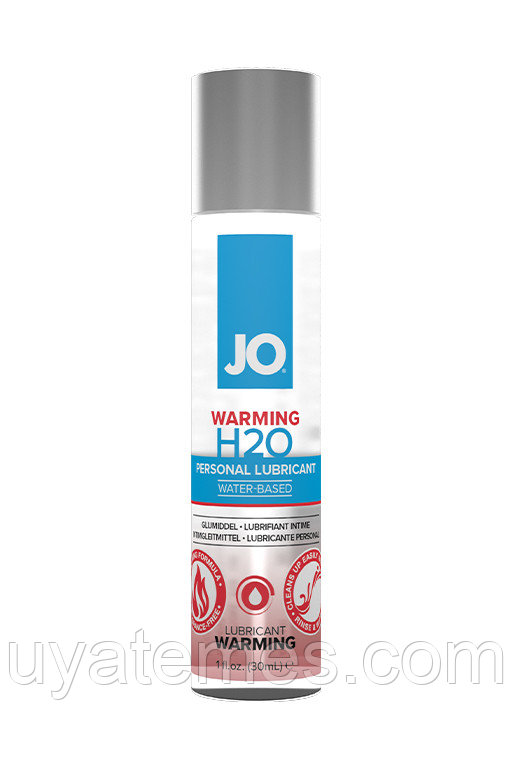 Классический согревающий лубрикант на водной основе / JO H2O Warming 1oz - 30 мл
