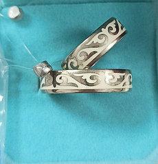 Кольцо серебро.( обручальные). размеры колец: 16; 21.