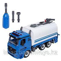 Разборная инерционная машина с цистерной и водомётом, 30 см, звук, свет
