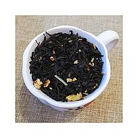 Чай черный листовой с имбирем и лимоном