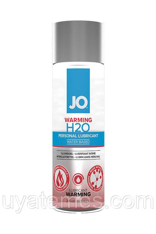 Классический согревающий лубрикант на водной основе / JO H2O Warming 2 oz - 60мл