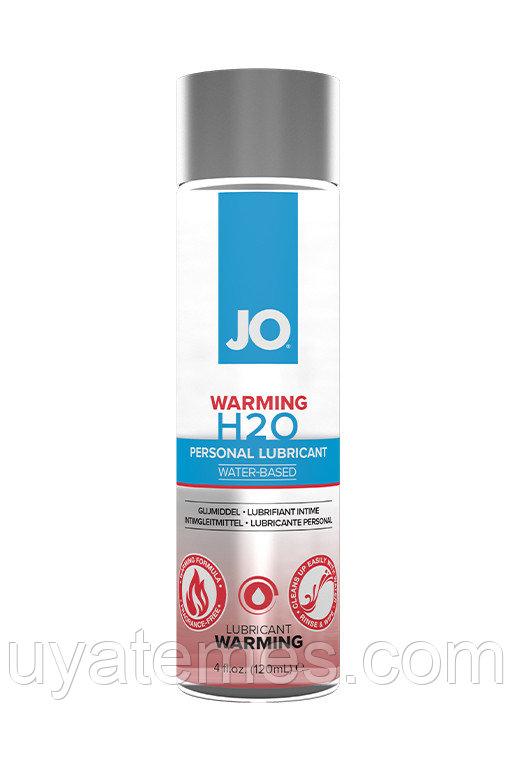 Классический согревающий лубрикант на водной основе / JO H2O Warming 4 oz - 120мл