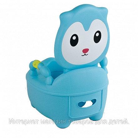 PITUSO Детский горшок КОТЕНОК Голубой BLUE 36,5*31,5*46 см