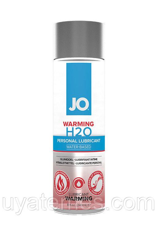Классический согревающий лубрикант на водной основе / JO H2O Warming 8oz - 240 мл