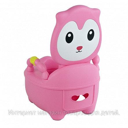 PITUSO Детский горшок КОТЕНОК Розовый PINK 36,5*31,5*46 см