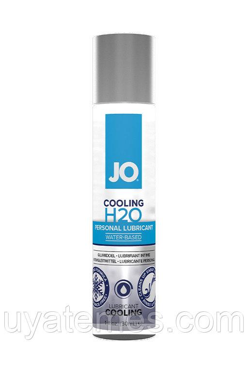 Классический охлаждающий лубрикант на водной основе / JO H2O Cooling 1oz - 30 мл