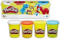 Hasbro B5517 Play-Doh Набор пластилина из 4-х баночек